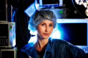 Image of Doctor in operating room.